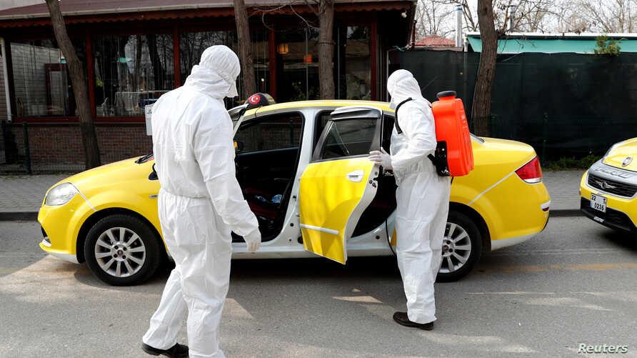 Het Coronavirus voor taxibedrijven