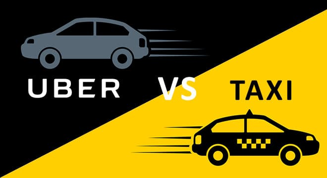 Taxi of Uber, wat is beter?