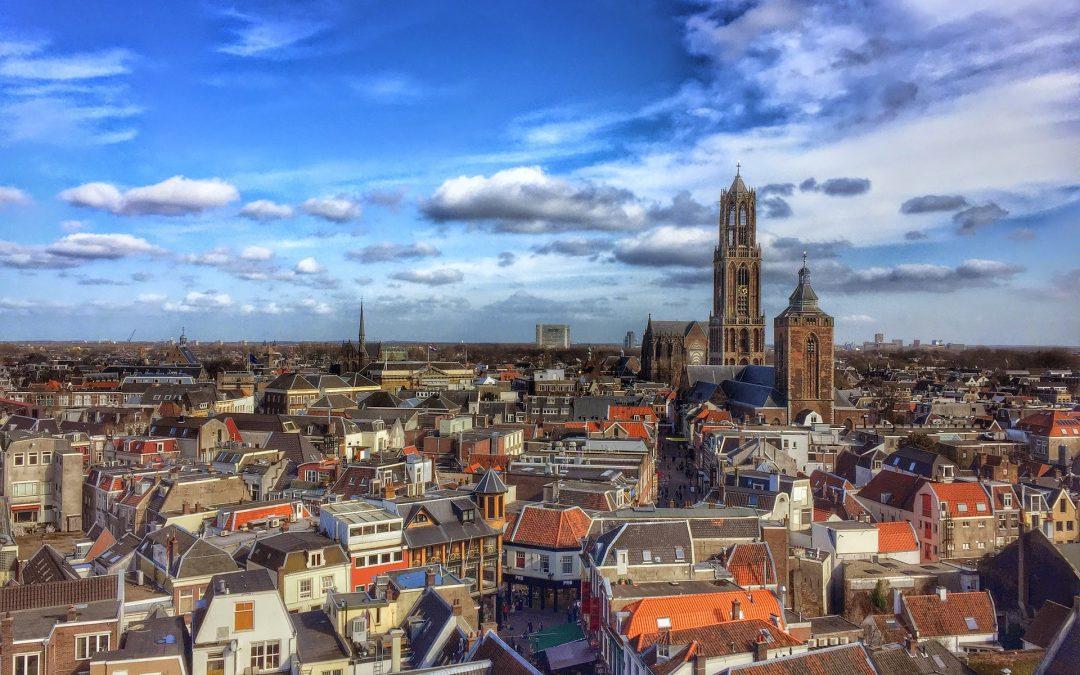 Met de taxi in Utrecht